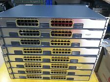 Cisco WS-C3750G-24T-S 24 Port Gigabt Ethernet Switch for CCNA CCNP CCIE LAB
