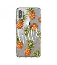 Coque Iphone X Ananas hello tropical fruit Exotique