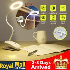 Desk Lamp Touch Table Lamps For Living Room Gooseneck Foldable 2000 mAh