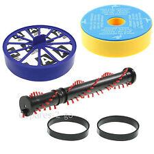 Brushroll Bar Pre & Post HEPA Filter & Belts Kit For Dyson DC07 Vacuum Hoover