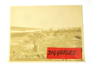 "Sullivan & Galens Mine Gold Run Port Clarence Nowell Sepia Photograph 10 x 8"""