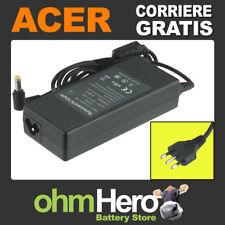 Alimentatore 19V 4,74A 90W per Acer Aspire 7720-3A2G12Mi