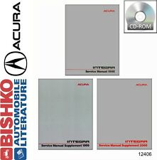 1998 1999 2000 Acura Integra Shop Service Repair Manual CD