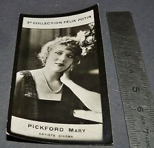 PHOTO IMAGE FELIX POTIN 3ème ALBUM 1920  PICKFORD MARY ACTRICE CINEMA HOLLYWOOD