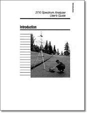 Tektronix 2710 Users Guide: Comb Bound & Protective Plastic Covers