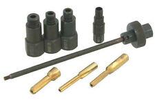 Glow Plug Aperture Cleaner Reamer Tool M8 M10 M12 Glow Plugs 4pc Adaptor