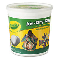 Crayola Air-Dry Clay White 5 lbs 575055