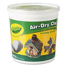 Crayola Air-Dry Clay White 5 lbs 575055