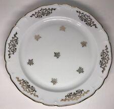 Lot 11 Petites Assiettes Plates En Porcelaine Limoges Ulim Salmon & Cie D 18,5cm