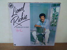 """LP 12"""" MAXI - LIONEL RICHIE - Running with the night - VG+/VG"""