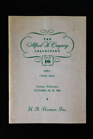 Asia Stamp Auction Catalogue From 1958 Alfred H. Caspary Collection
