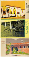 US Postcards Rare Hand Made Paintings Original