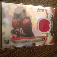 RYAN WILLIAMS 2011 BOWMAN STERLING CARDINALS ROOKIE JERSEY PATCH RELIC RC /299!!