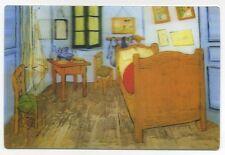 3-D Zimmer At Arles von Vincent Van Gogh Neu 3D Linsenförmiges Postkarte