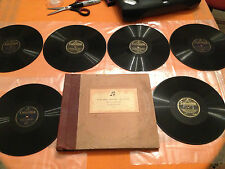 "COLUMBIA HISTORY OF MUSIC by Ear And Eye Vol 2 (Percy Scholes) 6x10"" 78rpm 1931"