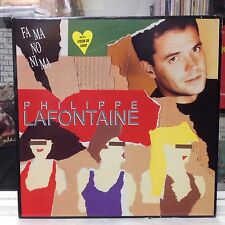 NM LP~PHILIPPE LAFONTAINE~Fa Ma No Ni Ma~[Original 1989 TRANS-CANADA/HELLO Issue