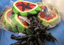 WHOLESALE LOT OF 6 RASTA DREADLOCK TAM Rastafarian Reggae Ska DREADS HAT 420 NEW