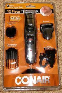 Conair 12 Piece Cordless Haircut Trimmer Kit Eq Set