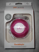 Speck Headphones Earphone Headset Carrying Case for Any In Ear Buds Style Pink
