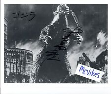 Haruo Nakajima Godzilla Autographed Signed 8x10 Print Signed October 1998 Train
