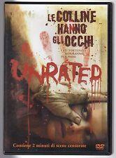 dvd LE COLLINE HANNO GLI OCCHI UNRATED
