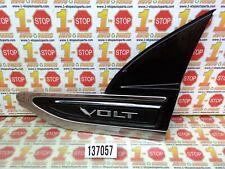 2011-2015 CHEVROLET VOLT DRIVER SIDE FENDER EMBLEM MOLDING 20774120 OEM
