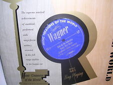 Music Treasures of the World Wagner MT 24  Mint / VG