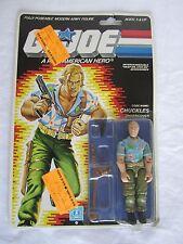 Vintage, GI JOE, 1986 CHUCKLES!! 34 BACK, MOC,  *SEALED*, Action Figure