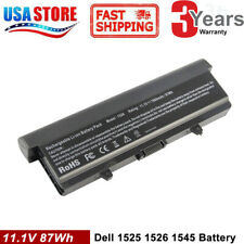 6/9 Cell Battery for Dell Inspiron 1525 1526 1440 1545 1546 1750 GW240 X284G