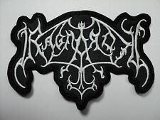 RAGNAROK  SHAPED LOGO EMBROIDERED PATCH