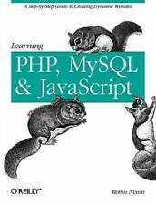 New listing Learning Php, MySql, and JavaScript: A Step-By-Step Guide to Creati - Acceptable