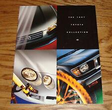 Original 1997 Toyota Car & Truck Full Line Sales Brochure 97 Land Cruiser Celica