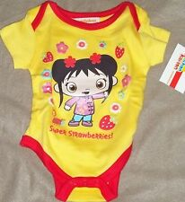 New  KAI-LAN CREEPER INFANT GIRL 0/3 MO.....YELLOW,,,,