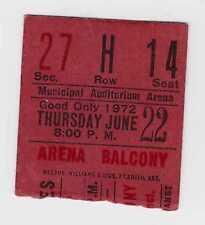 Rolling Stones - Stevie Wonder -6-22-72 - Kansas City concert ticket stub - 1972