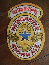 PUB COASTER - Newcastle Brown Ale, England