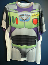 New Disney Parks BUZZ LIGHTYEAR Toy Story Costume T-Shirt Mens Small S