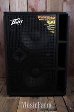 Peavey PVH 212 Electric Bass Guitar Amplifier Cabinet 900 Watt 2 x 12 Amp Cab