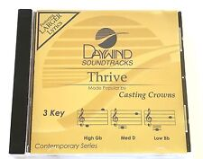 Daywind - Casting Crowns - Thrive - accompaniment track christian cd - new 8869D