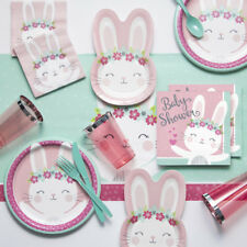 Bunny Party Baby Shower Party Supplies Kit
