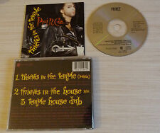RARE CD MAXI SINGLE PRINCE THIEVES IN THE TEMPLE 3 TITRES 1990