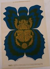1968 Psychedelic Love Arthur Lee Bill Graham Fillmore Poster Bg 116