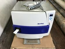 Systec DE-100 Horizontal Bench Top Steam Lab Autoclave Clave 3x230v READ