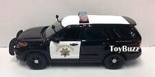 MOTOR MAX 1:24 15 FORD POLICE INTERCEPTOR UTILITY CALIFORNIA HIGHWAY PATROL CHP