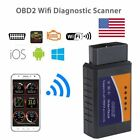 Wifi Elm327 Obd2 Obdii Cars Code Reader Diagnostic Scanner For Android Pc Ios