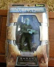 "Star Trek 7"" Enterprise Away Team Shran the Andorian figure Art Asylum 2002"