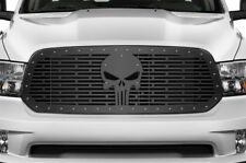 Custom Steel Aftermarket Grille Kit for Dodge Ram 1500 2013-2018 Grill PUNISHER