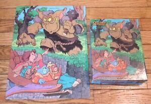 "Disney's Gummi Bears VTG Jigsaw Puzzle 63 Piece 1986 Golden COMPLETE (11.5 × 15"""