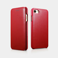 NEW ICARER iPhone7/8 Genuine Cow Leather Curved Edge Luxury Series