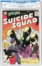 BRAVE AND THE BOLD 25 CGC 6.0 1ST APPEARANCE SUICIDE SQUAD 1291587004 🔥MOVIIE