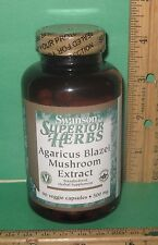 Agaricus Blazei Mushroom EXTRACT, 90 VEGETARIAN capsules, 500 mg, from Swanson